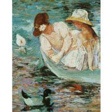 Mary Cassatt - Summer Tablosu