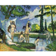 Paul Cezanne - Bathers Tablosu