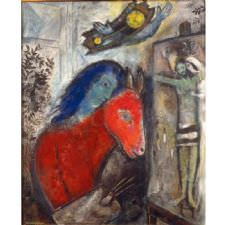 Marc Chagall - Self Portrait Tablosu