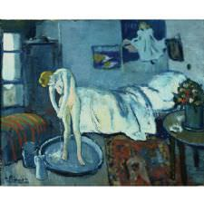 Pablo Picasso - The Blue Room Tablosu