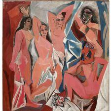 Pablo Picasso - Avignonlu Kızlar Tablosu