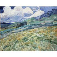 Vincent van Gogh - Saint Remy Manzara Tablosu