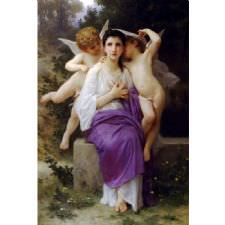 William Adolphe Bouguereau - Awakening Tablosu