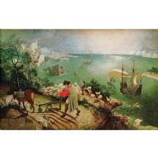 Pieter Brueghel - İkarus'un Düşüşü Tablosu