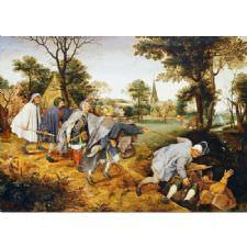 Pieter Brueghel - Körlerin Yürüyüşü Tablosu
