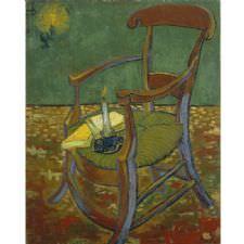 Vincent van Gogh - Sandalye Tablosu