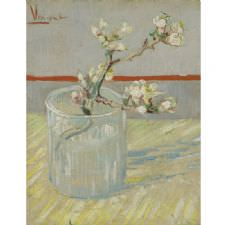 Vincent Van Gogh - Sprig of Flowering Tablosu