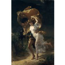 Pierre Auguste Cot - The Storm Tablosu