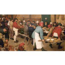 Pieter Brueghel - Köy Düğünü Tablosu