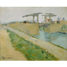 Vincent Van Gogh - The Langlois Bridge Tablosu