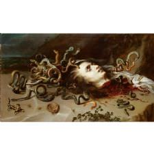 1576 Peter Paul Rubens - Medusa Tablosu