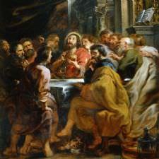 Peter Paul Rubens - Son Akşam Yemeği Tablosu