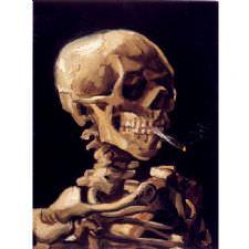 Vincent Van Gogh - Skull Tablosu
