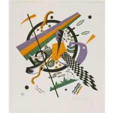 Wassily Kandinsky - Kleine Welten Tablosu