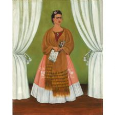 Frida Kahlo - Dedicated to Leon Trotsky Tablosu