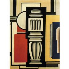 Fernand Leger - The Baluster Tablosu