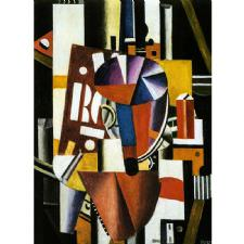 Fernand Leger - The Typographer Tablosu