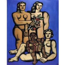 Fernand Leger - Three Sisters Tablosu