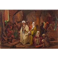 A. Preziosi - The Grand Bazaar Tablosu