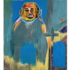 Jean-Michel Basquiat - Buda Kuşu Tablosu