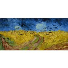 Vincent Van Gogh - Wheat Field Tablosu