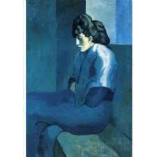 Pablo Picasso - Melancholy Woman Tablosu