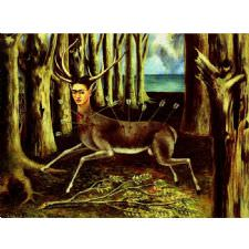 Frida Kahlo - The Wounded Deer Tablosu