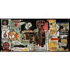 Jean Michel Basquiat - Notary Tablosu