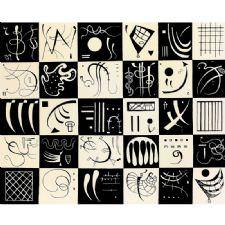 1777 Wassily Kandinsky - Thirty Tablosu