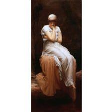 Frederic Leighton - Solitude Tablosu