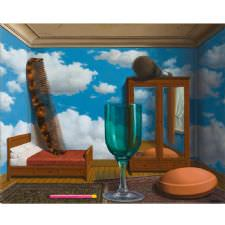 Rene Magritte - Personal Values Tablosu