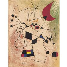 Joan Miro - The Lightning Tablosu