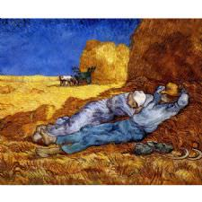 Vincent Van Gogh - La Siesta Tablosu