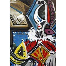 Pablo Picasso - Still Life Tablosu