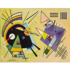 Wassily Kandinsky - Black And Violet Tablosu