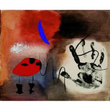 Joan Miro - Color and Line Tablosu