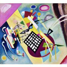 Wassily Kandinsky - Trame Noire Tablosu