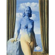 Rene Magritte - La Magie Noire Scale Tablosu