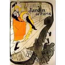 Jane Avril - Jardin De Paris Tablosu