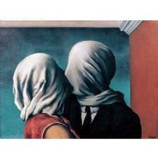 Rene Magritte - The Lover II Tablosu