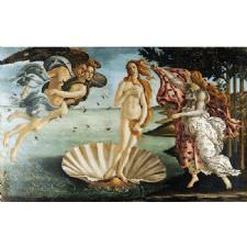 Sandro Botticelli - Venüs'ün Doğuşu Tablosu