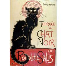 Theophile Steinlen - Chat Noir Tablosu