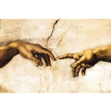 Michelangelo - Creation of Adam Tablosu