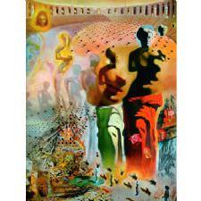Salvador Dali - Hallucinogenic Tablosu