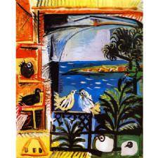 Pablo Picasso - Cote Dazur Tablosu