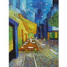 Vincent Van Gogh - Terrasse de Tablosu