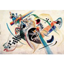 Wassily Kandinsky - On White Tablosu
