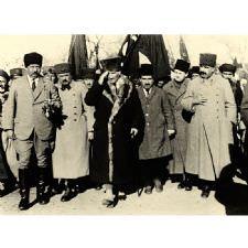 Atatürk'ün Manisa Ziyareti Tablosu
