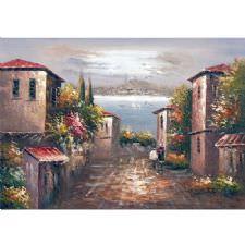 Eski İstanbul Sokakları Tablosu