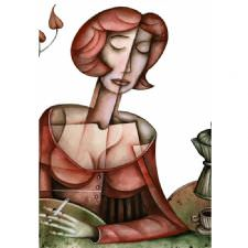 Kubist Kadın Tablosu
